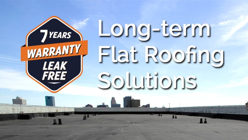 Long-term Flat Roofing Solutions